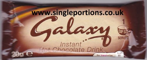 Galaxy - Instant Hot Chocolate - single portion sachets online